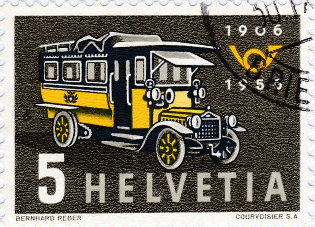 SBK 324, Erstes Postauto 324_3_12
