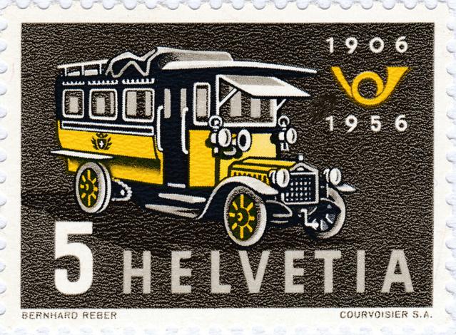 SBK 324, Erstes Postauto 324_3_14