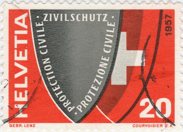 SBK 330 (Mi. 639), Zivilschutz 330_3_13