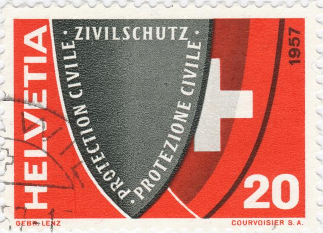 SBK 330 (Mi. 639), Zivilschutz 330_3_18
