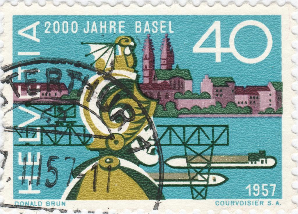 SBK 331 (Mi. 640), 2000 Jahre Basel 331_2_16