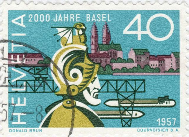 SBK 331 (Mi. 640), 2000 Jahre Basel 331_2_18