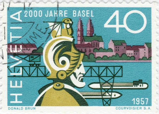 SBK 331 (Mi. 640), 2000 Jahre Basel 331_3_11