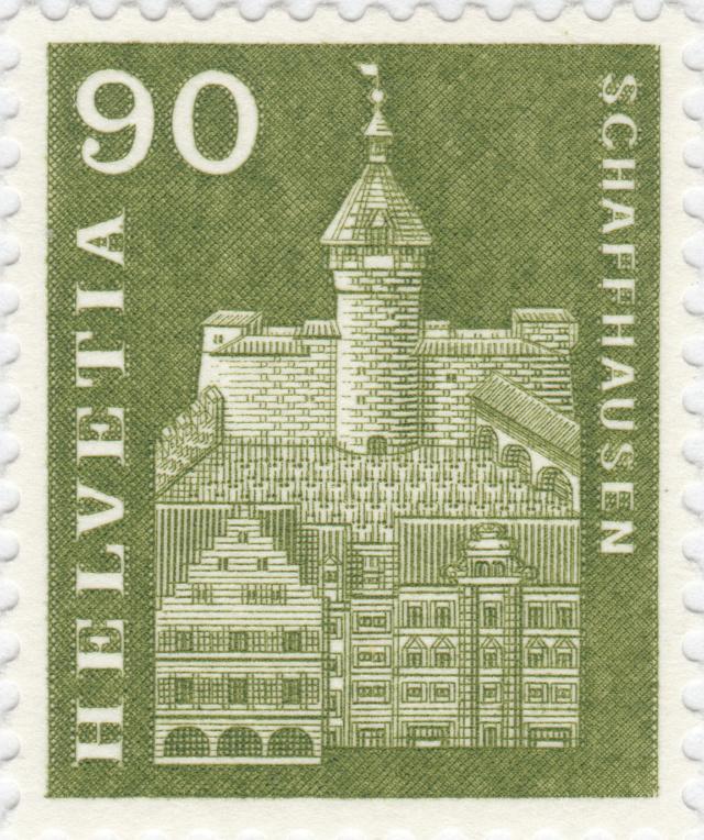SBK 368 (Mi. 709), Munot, Schaffhausen 368_2_11