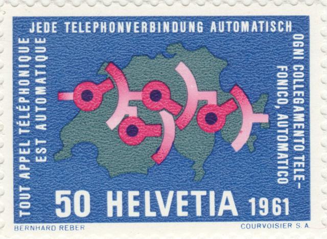 SBK 378 (Mi.730), Automatische Telephonverbindung 378_2_10
