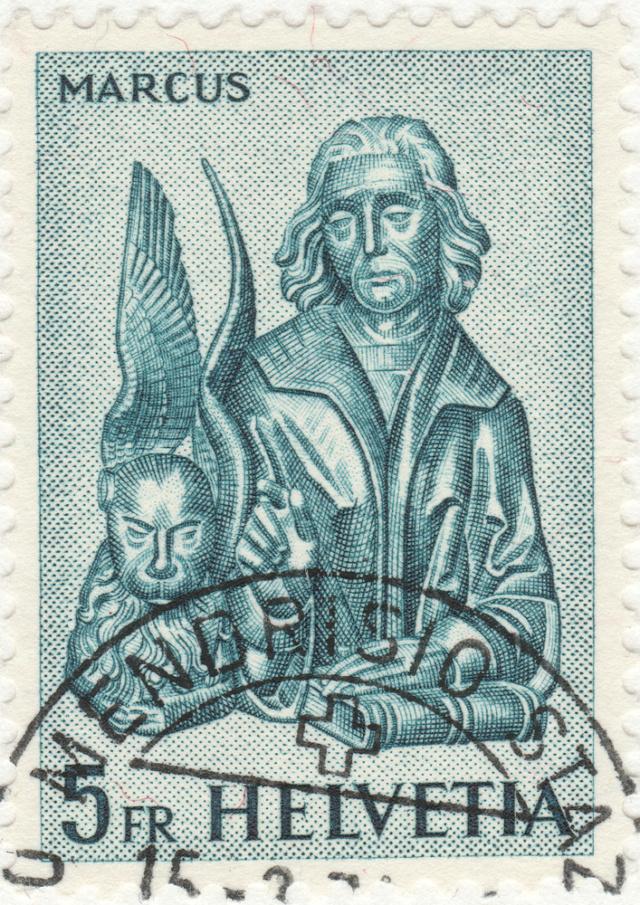 SBK 382 (Mi.739), Evangelisten - Markus 382_2_10