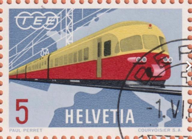 SBK 385 (Mi.747), Schweizer TEE-Zug 385_2_12