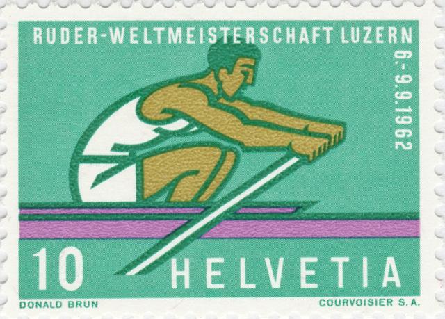 SBK 386 (Mi.748), Ruder-WM, Luzern 386_1_10