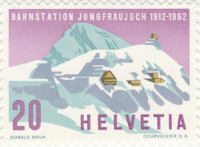 SBK 387 (Mi.749), Jungfraujoch 387_1_12