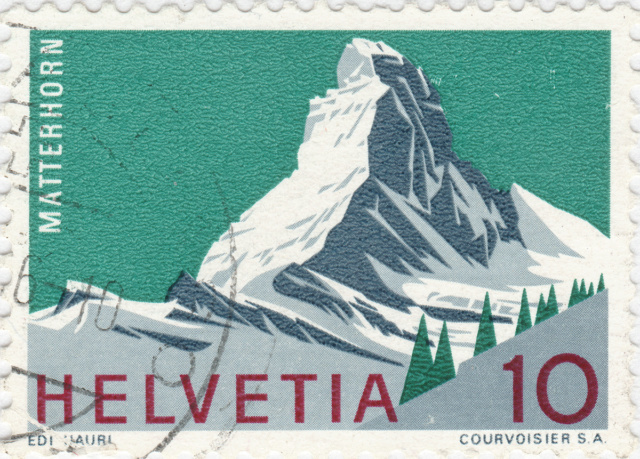 SBK 433 (Mi. 820), Matterhorn 10 Rp. 433_2_11