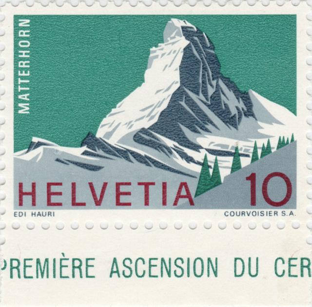 SBK 433 (Mi. 820), Matterhorn 10 Rp. 433_3_11