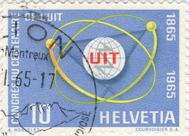 SBK 436 (Mi. 823), UIT-Kongress, 10 Rp. 436_2_10