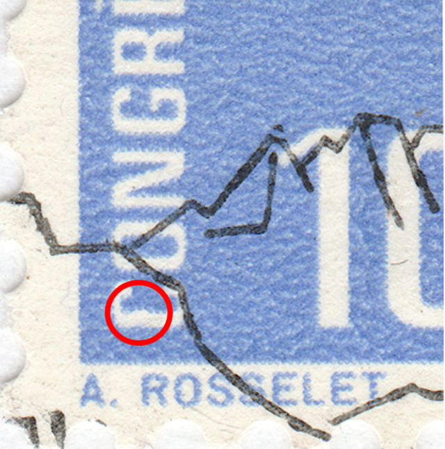SBK 436 (Mi. 823), UIT-Kongress, 10 Rp. 436_2_11