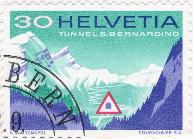 SBK 451 (Mi. 860), San Bernardino-Tunnel 451_2_15