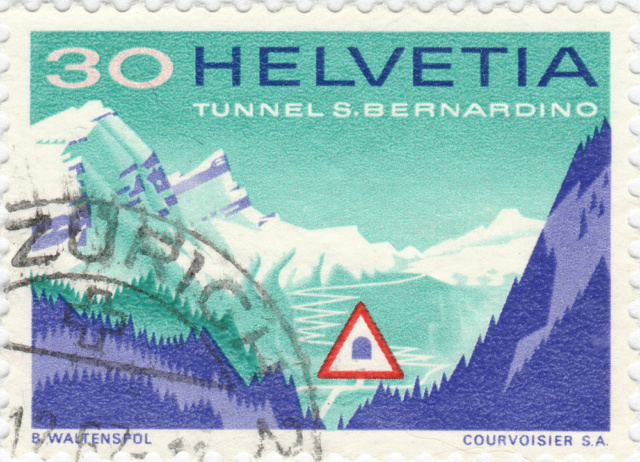 SBK 451 (Mi. 860), San Bernardino-Tunnel 451_3_13
