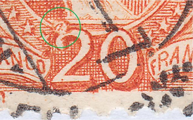 SBK 66E, Stehende Helvetia 20 Rp 66e_2_25