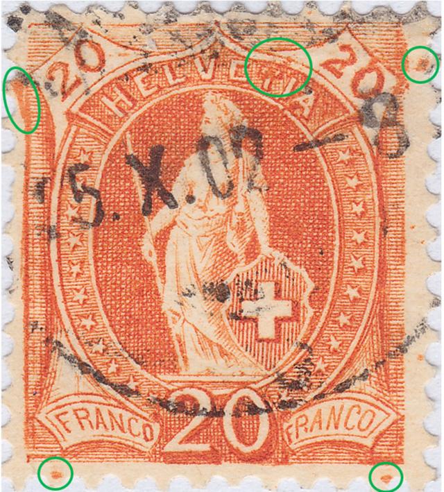 SBK 66E, Stehende Helvetia 20 Rp 66e_2_35