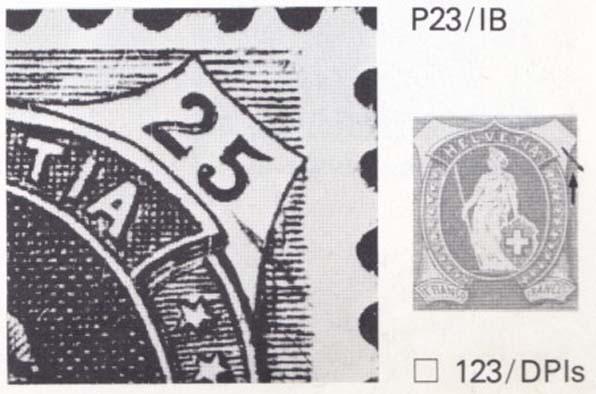 SBK 67D, Stehende Helvetia 25 Rappen 67d_2_21