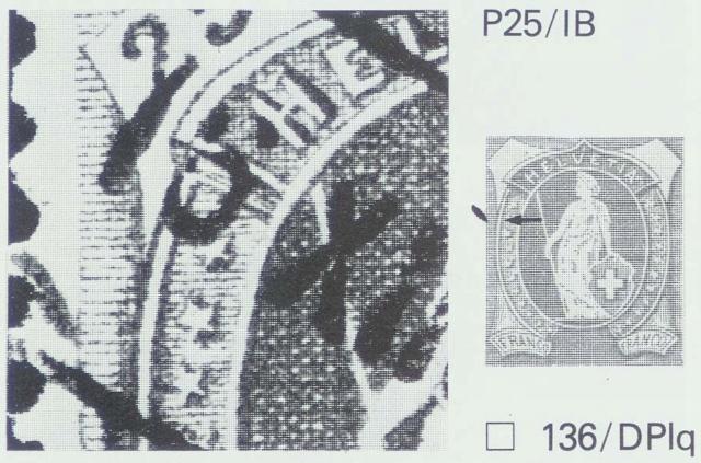 SBK 67D, Stehende Helvetia 25 Rappen 67d_2_26