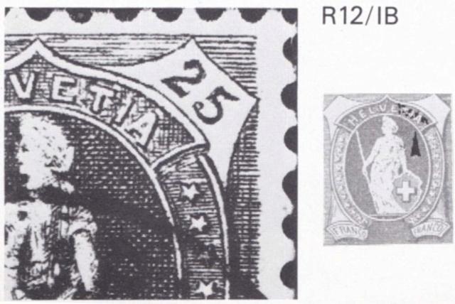 SBK 67D, Stehende Helvetia 25 Rappen 67d_3_19