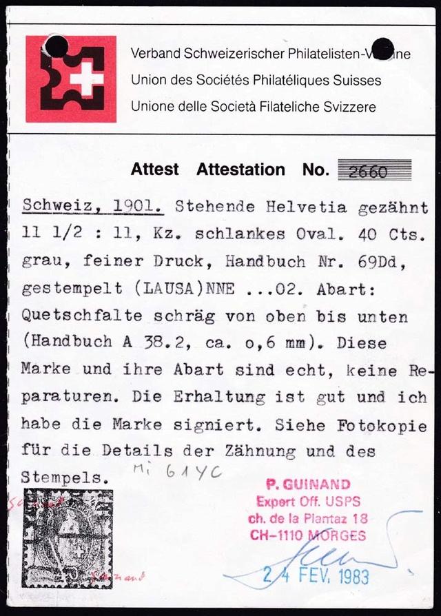 SBK 69D, Stehende Helvetia 40 Rp 69d_1_11