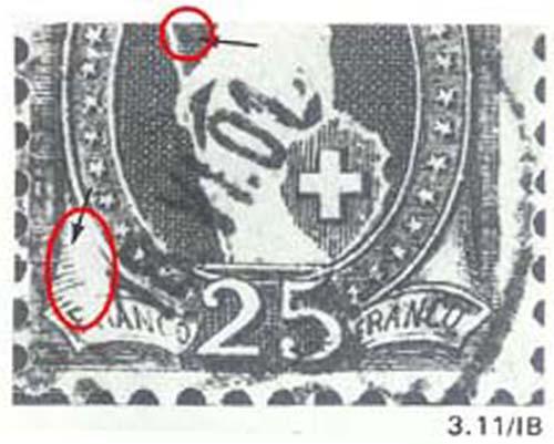 SBK 73D, Stehende Helvetia 25 Rappen 73d_3_23