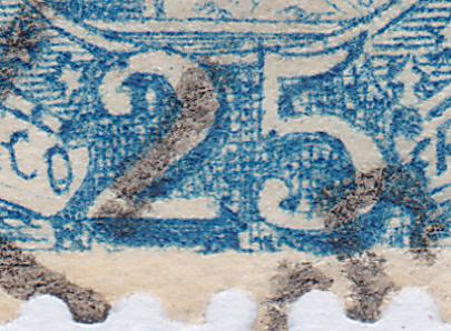 SBK 73E, Stehende Helvetia 25 Rappen 73e_3_30