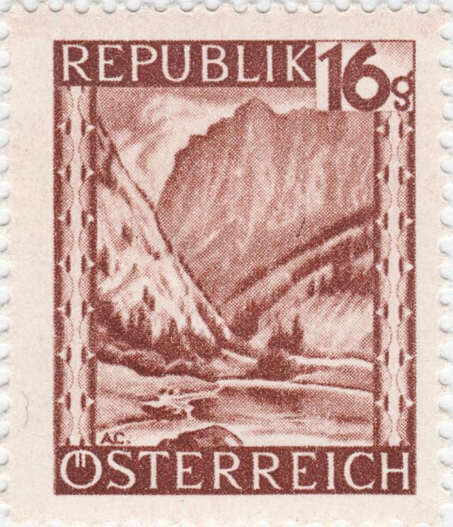 ANK 749 (Mi. 749) Gesäuseeingang (Steiermark) 749_i_10