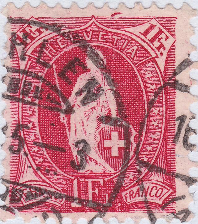 SBK 75D, Stehende Helvetia, 1 Franken 75d_2_18