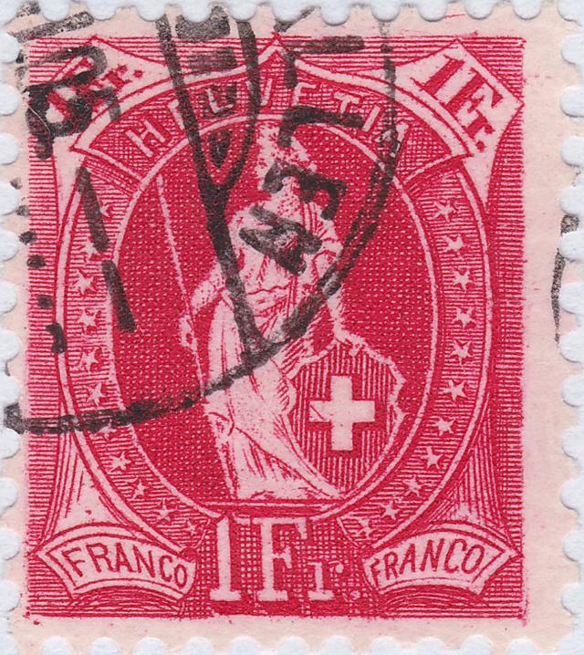SBK 75D, Stehende Helvetia, 1 Franken 75d_2_20