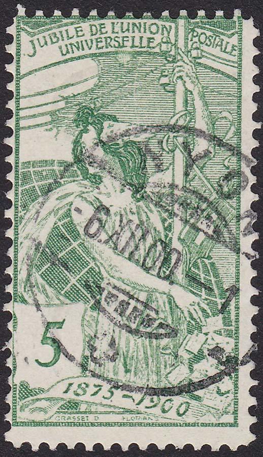 SBK 77A, 5 Rp grün, 1. Platte 77a_3_10