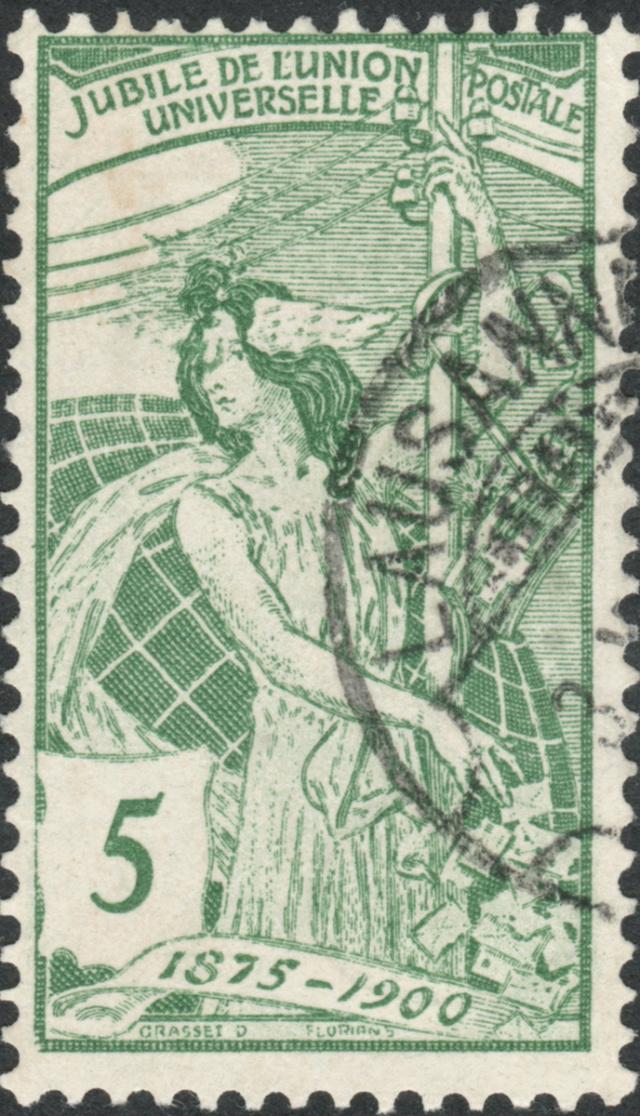 SBK 77B (Mi 71II) 5 Rp grün, 2. Platte 77b-2-10