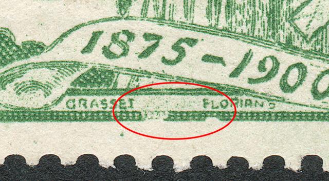 SBK 77B (Mi 71II) 5 Rp grün, 2. Platte 77b-3-13