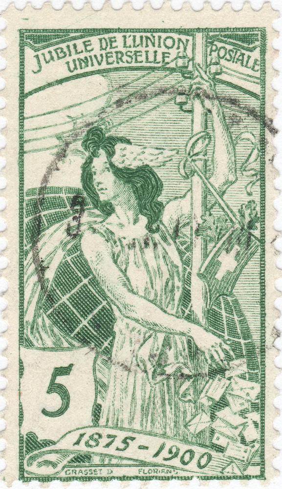 SBK 77C (Mi 71III) 5 Rp grün, 3. nachgravierte Platte 77c_3_13