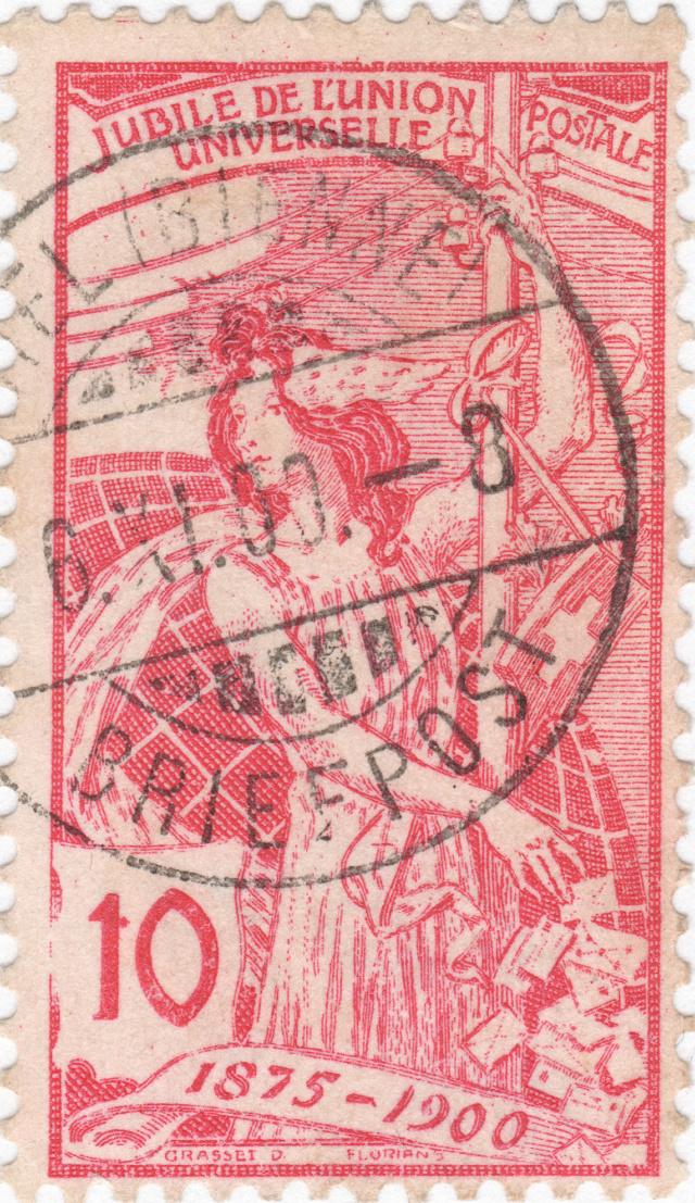 SBK 78B (Mi 72II), 10 Rp rot, zweite Platte 78b_2_18