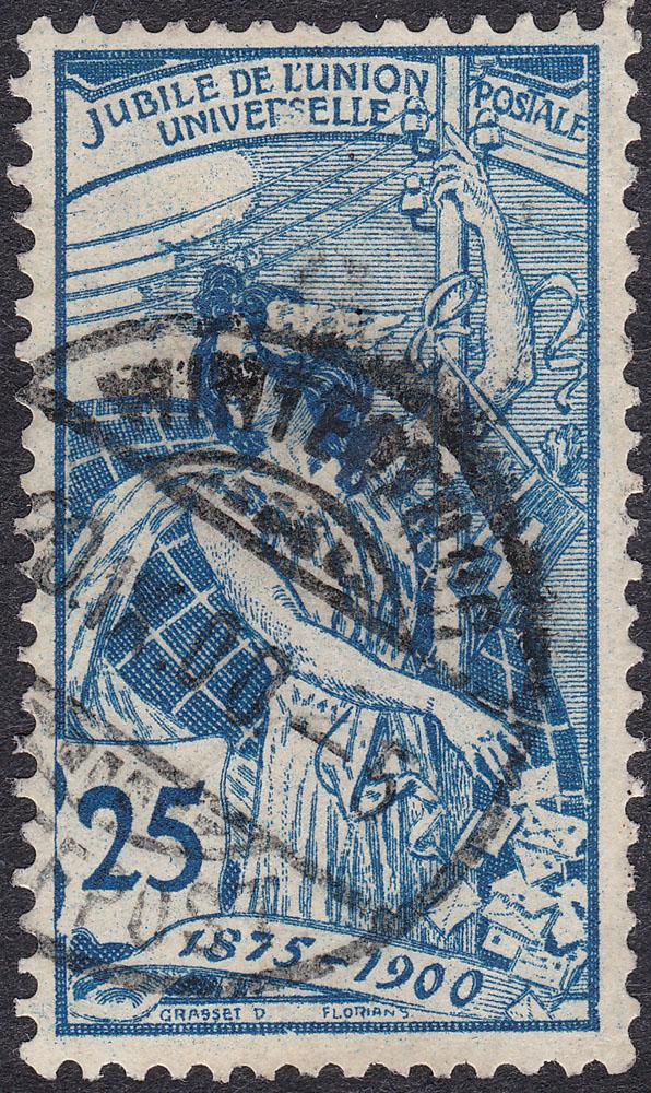 SBK 79B (Mi 73II) 25 Rp blau, 2. Platte 79b_3_10