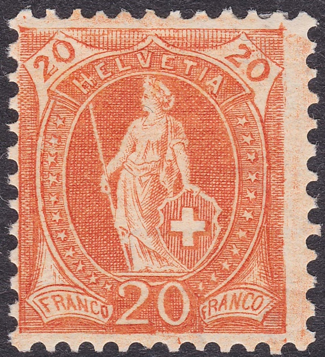 SBK 94A, Stehende Helvetia, 20 Rappen 86aa_310