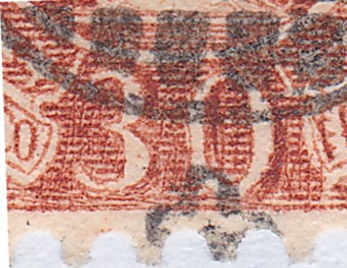 SBK 88A, Stehende Helvetia 30 Rp 88a_3_15