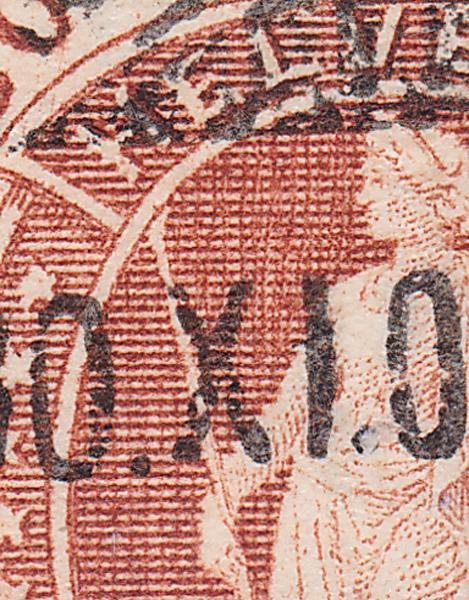 SBK 88A, Stehende Helvetia 30 Rp 88a_3_17