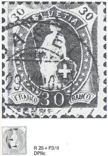 SBK 88A, Stehende Helvetia 30 Rp 88a_3_20