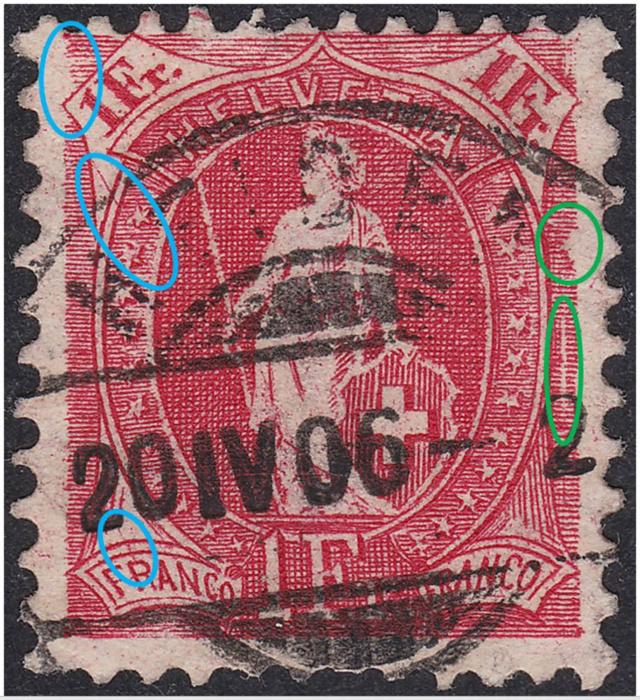 SBK 91A, Stehende Helvetia, 1 Franken 91a_2_17
