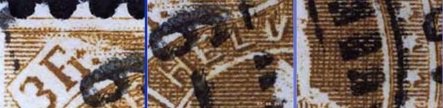 SBK 92A, Stehende Helvetia 3 Fr 92a_3_24