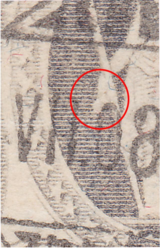 SBK 97A, Stehende Helvetia 40 Rappen 97a_2_15