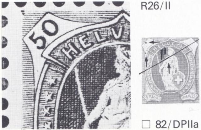 SBK 98A Stehende Helvetia 50Rp grün 98a_3_19