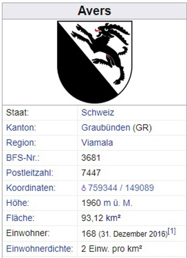 Avers-Cresta, Graubünden - 168 Einwohner Avers-11
