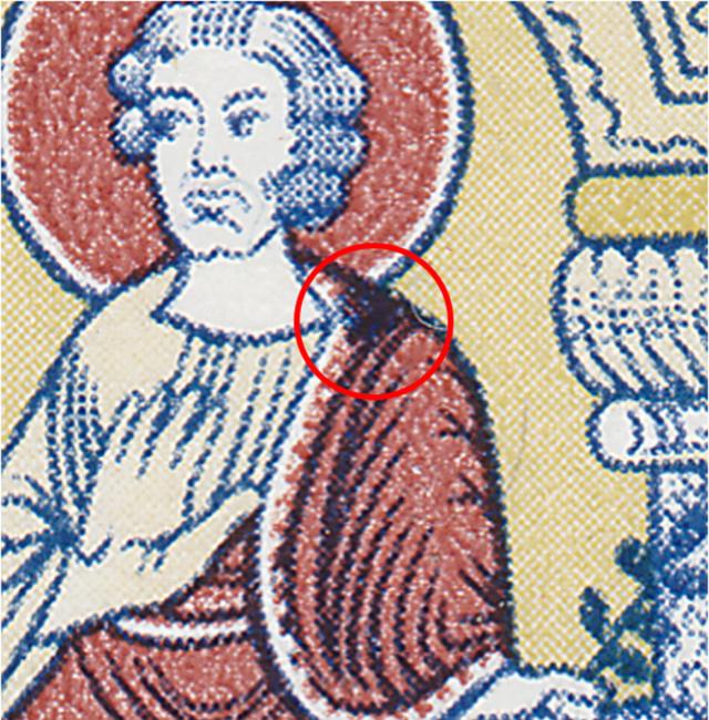 SBK B137 (Mi 857) Der trohnende Joseph B137_211