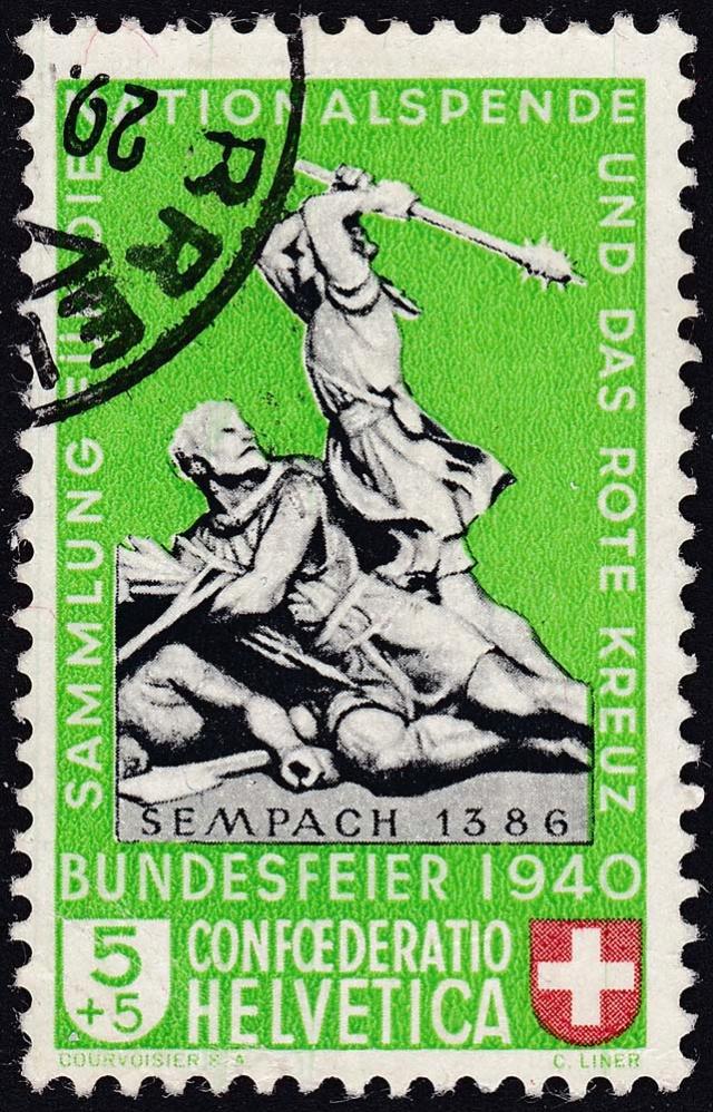 SBK B3 Denkmäler - Sempach 1386 B311