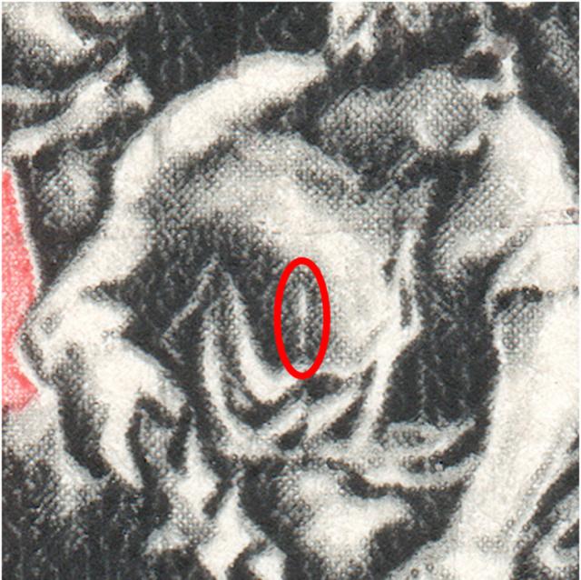 SBK B5 (Mi 366b) und B5c (Mi 366a) Denkmäler - Calven 1499 B5_4_014