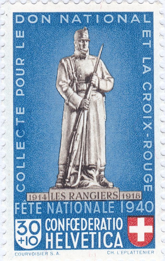 SBK B6 Denkmäler - Les Rangiers 1914-1918 B6_2_013