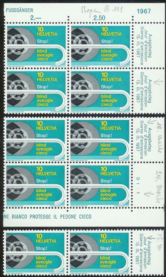 SBK 446 (Mi 851) Blindenstock Blinde10